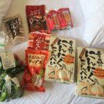 青森で大量の食料品を買い込む