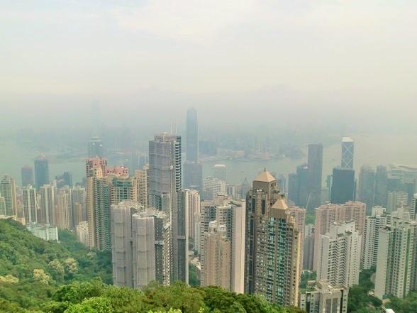 香港観光「ビクトリアピーク」「アベニュー・オブ・スターズ 」