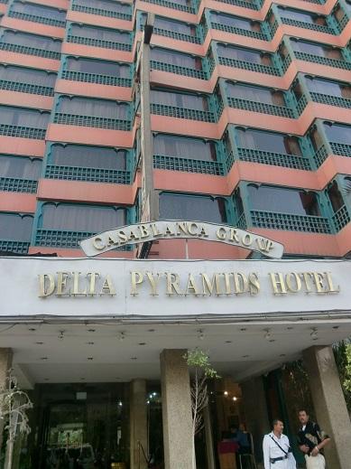 エジプトでピラミッドが見えるお買得なホテル