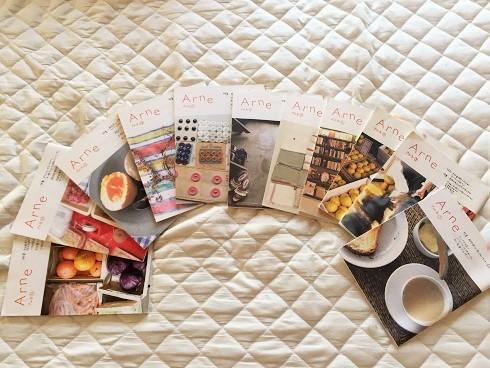 『アルネ』を古本屋で買い集めながら思う、自宅での生活