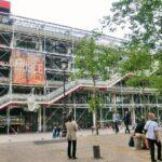 パリ美術館観光は観光客が少ない11月が最適「ポンピドゥー・センター(国立近代美術館)」