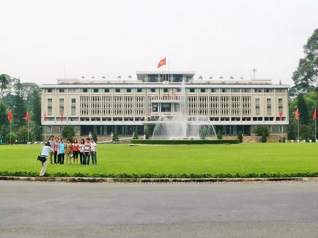 ベトナム・ホーチミン「統一会堂」「戦争証跡博物館」に残る戦争の跡