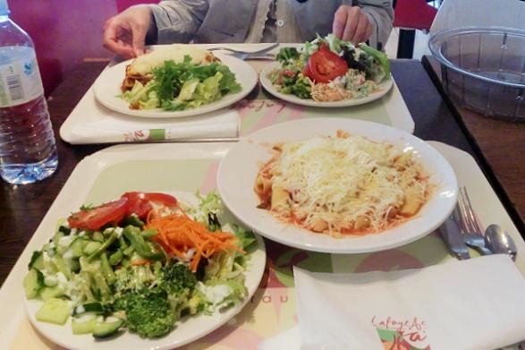 パリ市内中心部で気軽に食事が摂れるレストラン2つ