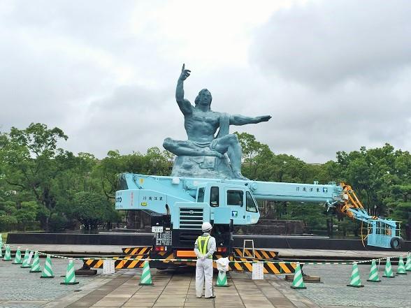 坂道の多い長崎観光「平和公園・眼鏡橋・新地中華街・崇福寺」