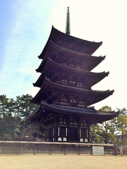 奈良駅~興福寺~東大寺を徒歩でのんびり観光