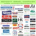 イスラエル支援企業はデマじゃない。スタバ、ディズニー、ネスレ等々