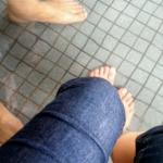 松江宍道湖温泉の足湯(無料)が気持ちいい