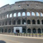 歩き疲れたローマ観光「コロッセオ」入口大混雑