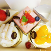 結婚記念日「KAI」のケーキが美味しい