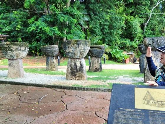 グアム観光「ラッテストーン公園」