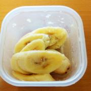 バナナで超簡単冷たいデザート