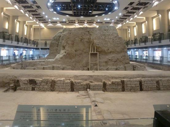 西安・唐皇城墻含光門遺跡博物館(城壁内博物館)をのんびり歩く①