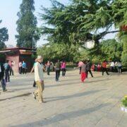西安・興慶宮公園をのんびり歩く