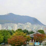 釜山をのんびり歩く