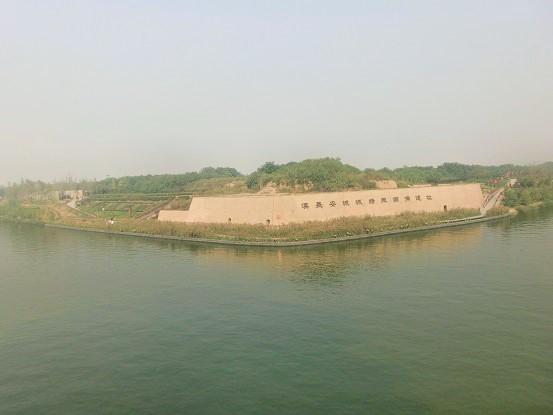 西安・汉城湖周辺をのんびり歩く