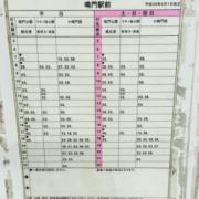 鳴門駅から大塚国際美術館までのバス