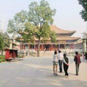 西安・大興善寺をのんびり歩く