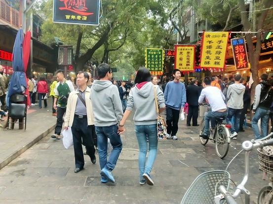 西安・回民街をのんびり歩く