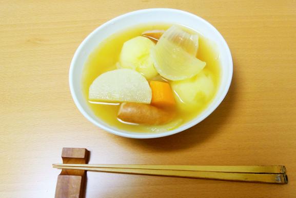 簡単美味しいポトフ(コンソメ&たっぷり野菜)