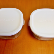 プラスチック容器からガラス・琺瑯容器へ替えました