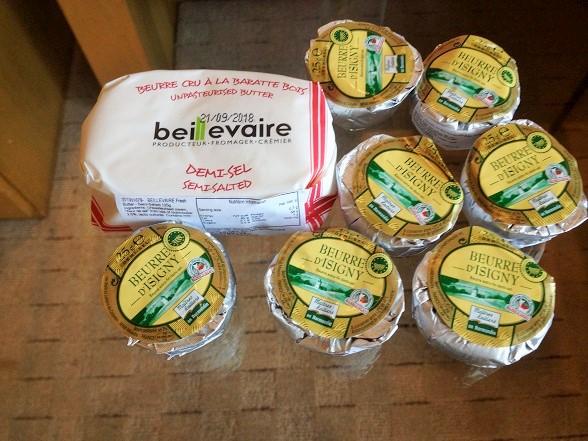 香港自分へのお土産でフランス産バターを購入