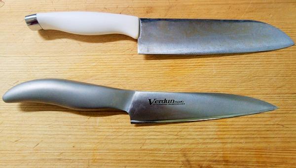 メイン包丁をペティナイフにしたら料理しやすくなった