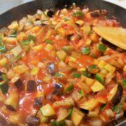 野菜を大量摂取できる簡単美味しいカポナータ