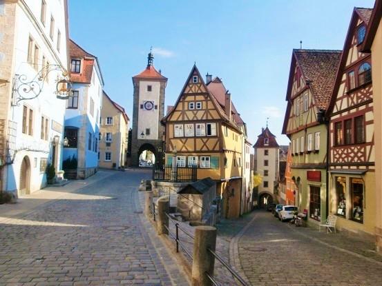【ドイツ・オーストリア周遊8日間】団体ツアー旅行記4月③ハイデルベルク、ローテンブルク