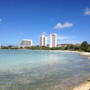 綺麗な海のあるグアムでのんびり過ごすのが最高