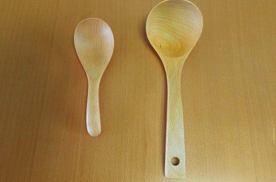 木製のお玉・取り分けレンゲを購入