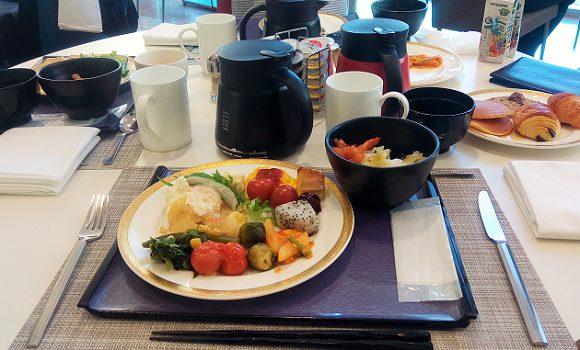 ANAクラウンプラザホテル新神戸で数年ぶりの朝食