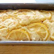 簡単美味しい豆腐レモンケーキ