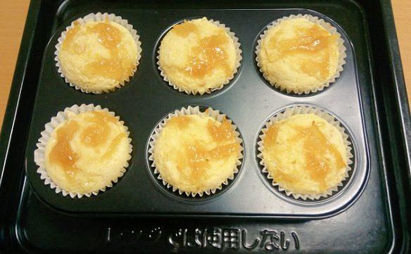 手作りレモンジャムでさっぱり美味しいマフィン