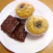 【小麦粉・バター不使用】モチモチ美味しい米粉バナナマフィン