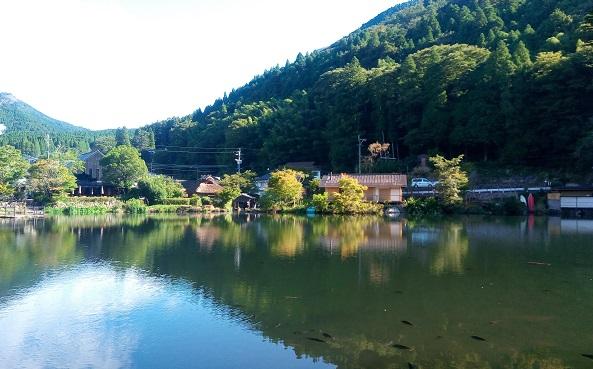 【3泊4日長崎・佐賀・大分旅行】湯布院金鱗湖、別府ロープウェイ