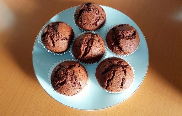 【乳製品不使用】チョコなし超簡単!濃厚ココアマフィン