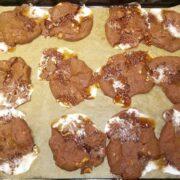 くるみ入りで香ばしい!マシュマロココアクッキー簡単レシピ♪