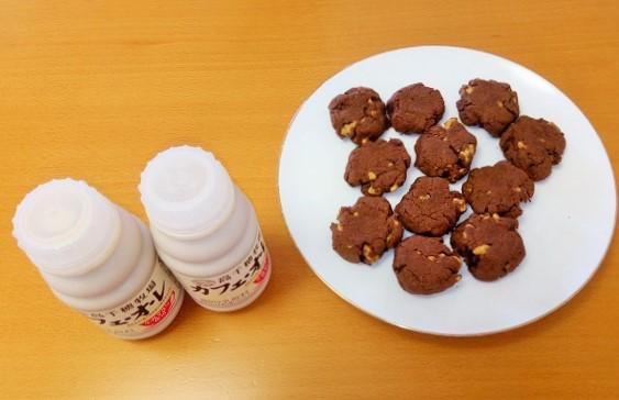 【卵なし】くるみたっぷり!サクほろ簡単ココアクッキー